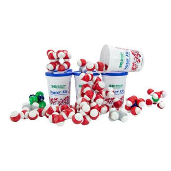 Magnetic Water Molecule Kit 6-Pack