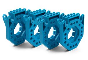 Dash and Dot Building Brick Connectors