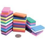 20 Pack of Rainbow Bar Magnets