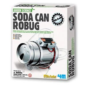 Soda Can Robot Kit