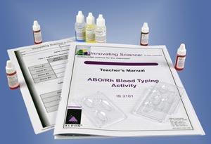 Simulated ABO/Rh Blood Typing Kit