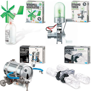 Set of 4 Green Science Kits