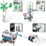Set of 4 Green Science Kits