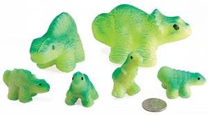 Large Gro-Beast Dinosaurs (Set of 6)