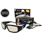 Limited Edition Bill Nye Plastic Eclipse Glasses with Two Bonus Glasses