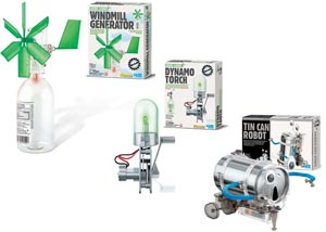 Set of 3 Green Science Kits