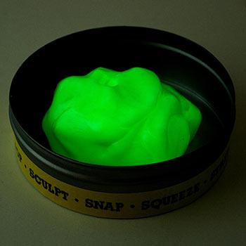 Glow-in-the-Dark Putty