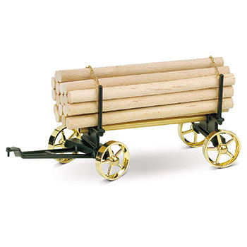 Lumber Wagon - A 426 / black & brass