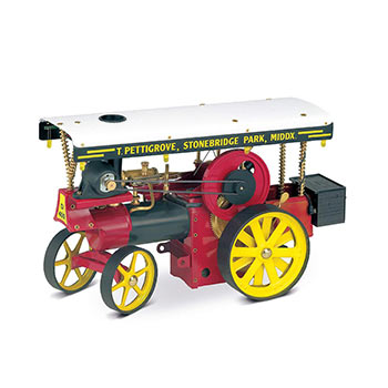 Wilesco Showman's Engines - Showman's Engine - D 409