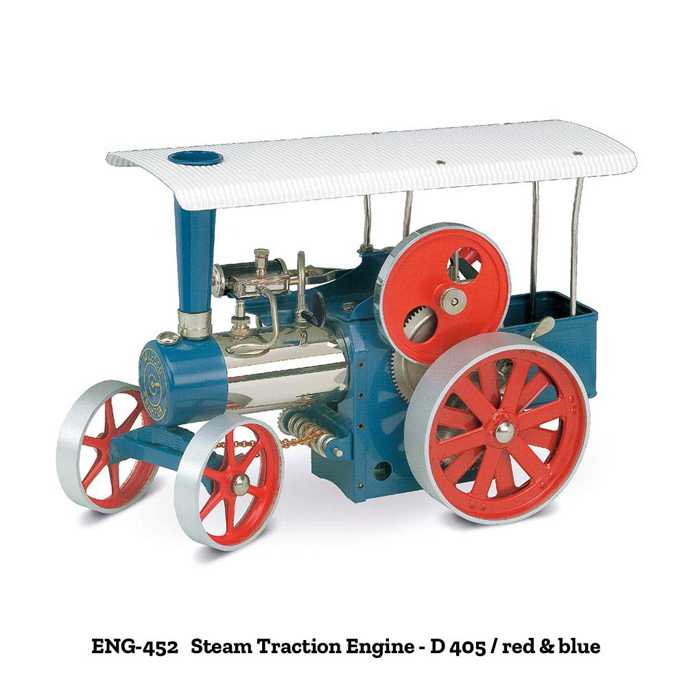Wilesco Steam Traction Engines