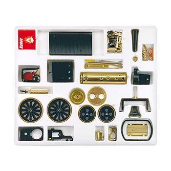 Steamroller - D 376 / black & brass / kit