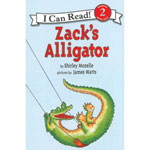 Zack's Alligator Book - Zack's Alligator by Shirley Mozelle
