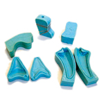 Set of 5 Tooth & Claw Molds