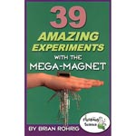 Mega-Magnet Book by Brian Rohrig - Mega-Magnet Book with 2 Neodymium Magnets