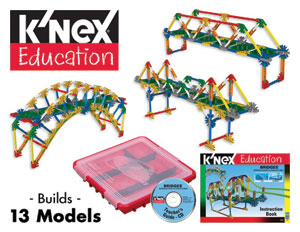 Intro to Structures: Bridges - K'Nex Kit