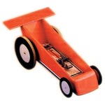 Mousetrap Racing Car Kits - Single Mousetrap Car Kit