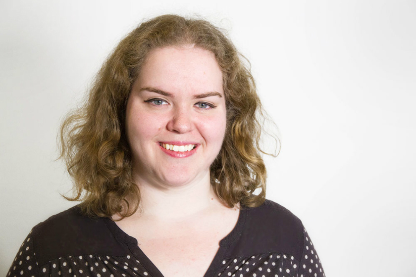 Rosie Bannister, Web Content Manager