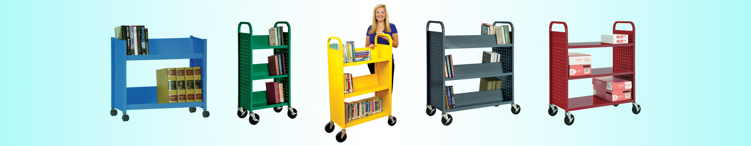 Carts and Book Trucks