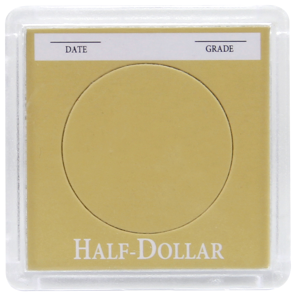 Coin Holder - Half Dollar