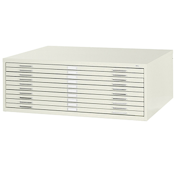 SAFCO® Steel Flat Files - 5 Drawer, 16-1/2H x 46-3/8W x 35-3/8D