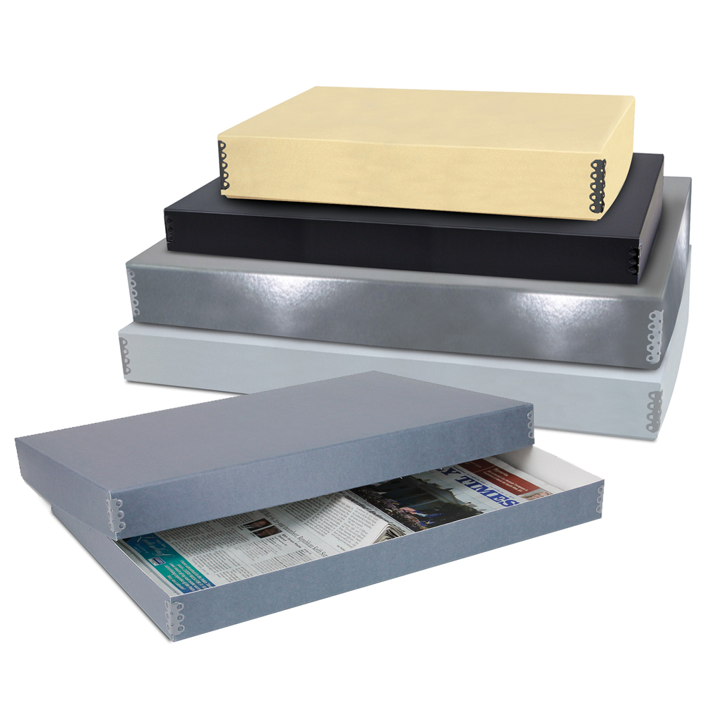 Newspaper Storage Boxes