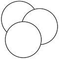 White Pre-cut Paper Circle Inserts - 2-1/4