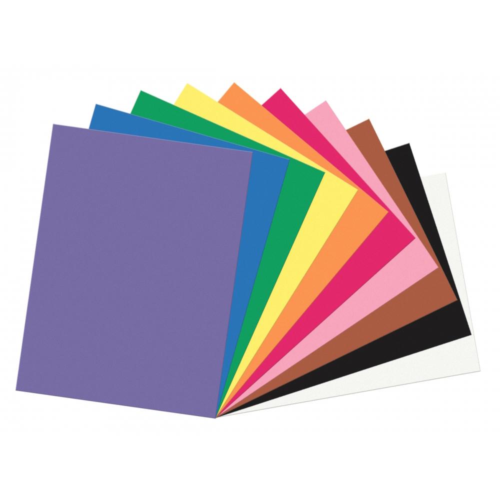 SunWorks® Heavyweight Construction Paper - 9 x 12 - 50/Pkg