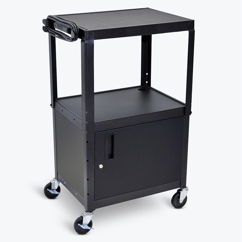 LUXOR|H.WILSON Duraweld Cart with Cabinet