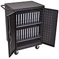 LUXOR|H.WILSON 24 Laptop/Tablet Charging Cart
