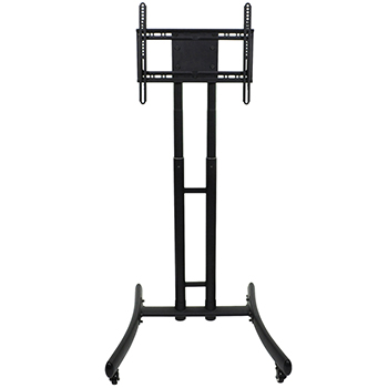 LUXOR|H.WILSON Adjustable Height TV Stand - up to 70 TV