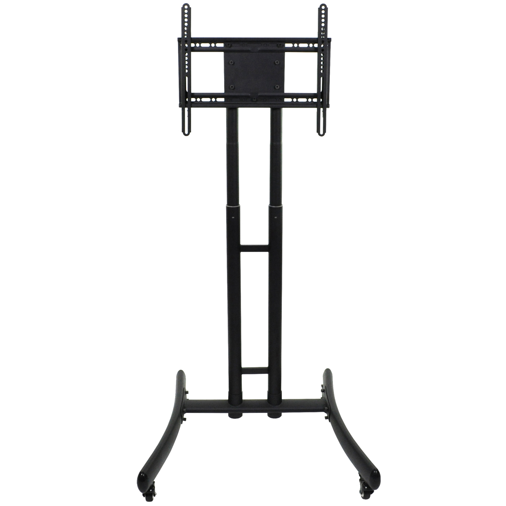 LUXOR|H.WILSON Adjustable Height TV Stand - up to 70 in. TV