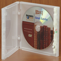 Clear-Vu One-Time™ Security Case - 1 Disc CD, Clear