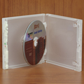 Clear-Vu One-Time™ Security Case -  2 Disc CD, Clear