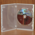 Clear-Vu One-Time™ Security Case - 1 Disc DVD, Clear