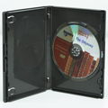 Clear-Vu One-Time™ Security Case - 1 Disc DVD, Black