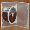Clear-Vu One-Time™ Security Case - 2 Disc DVD, Clear