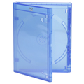 Clear-Vu One-Time™ Security Case - 1 Disc Blu-ray, Blue