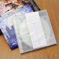 Poly Vista-Pockets™ Clear Book Pockets