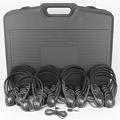 TLS™ Personal Stereo Headphone Lab Packs- Leatherette Headphones