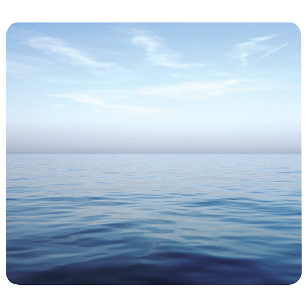 Fellowes® Recycled Mouse Pad - Blue Ocean