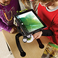 Copernicus DEWEY iPad® Document Camera Stand - Stand with Microscope & Light