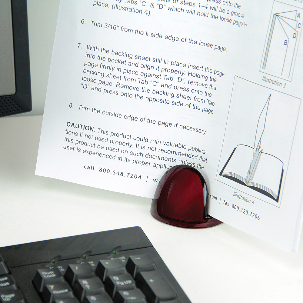 Page-Up Paper Stand