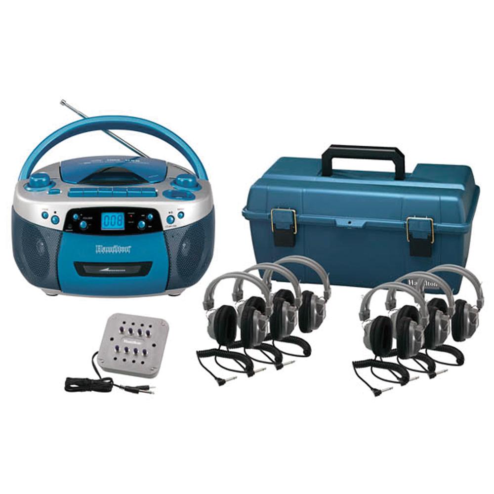 HamiltonBuhl® USB/MP3/CD/Cassette SC-7V Deluxe Listening Center