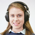 CALIFONE® Switchable Stereo/Mono Headphones (3068AV)