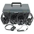 Personal Stereo Headphone Lab Packs-Leatherette Headphones