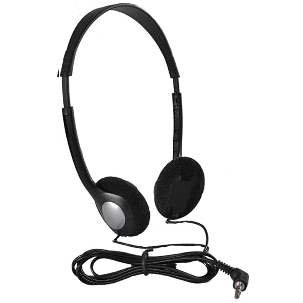 HamiltonBuhl® Personal Economical Headphones Bulk Packs