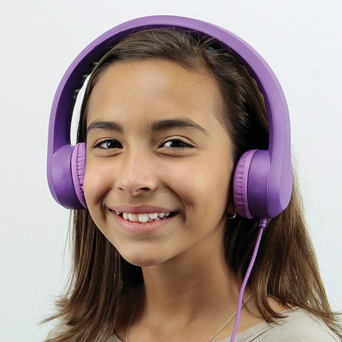 HamiltonBuhl® Flex-phones Volume Limiting Kids Headphone