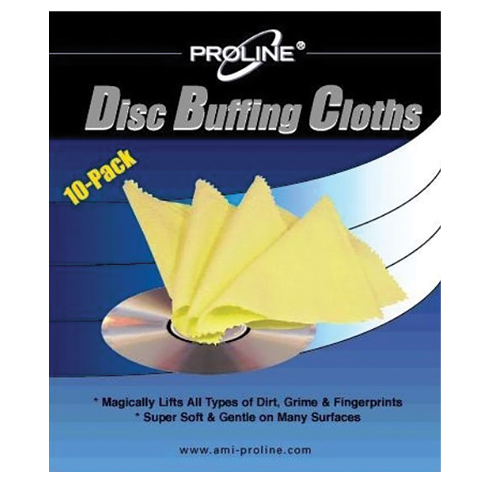 Disc Buffing Cloths - 10 pack