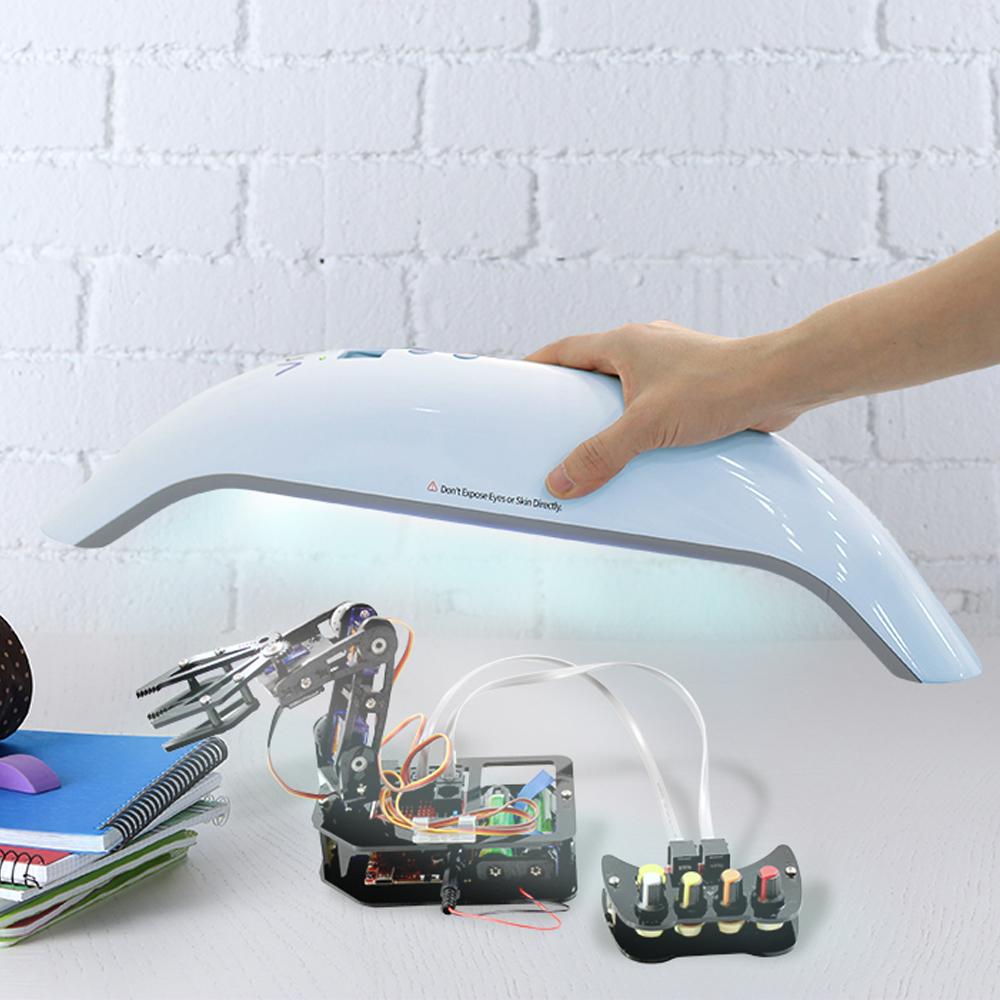HamiltonBuhl® HygenX™ Vray Portable UV-C Sanitizer