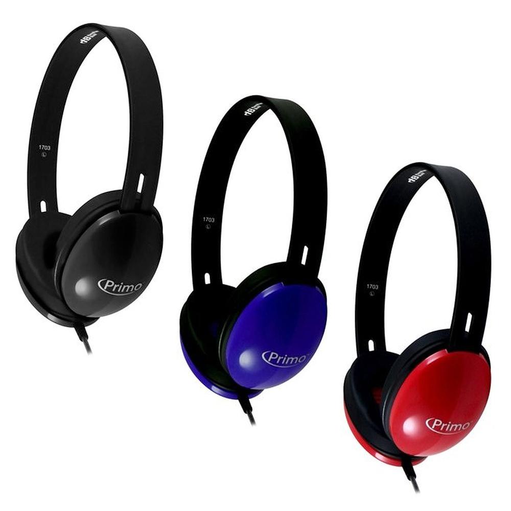 HamiltonBuhl® Primo™  Stereo Headphones